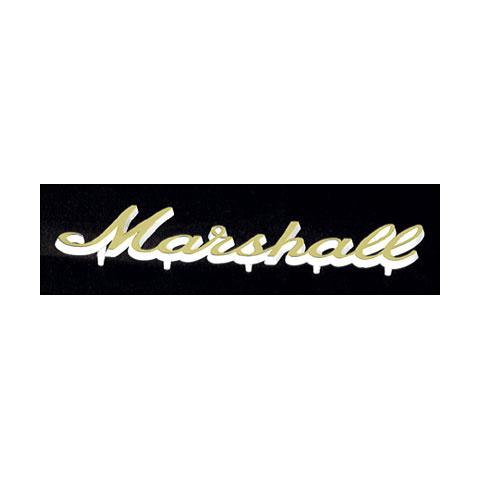 Marshall Logo dorado, pequeño