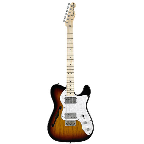 Fender Classic Series '72 Telecaster Thinline 3TS