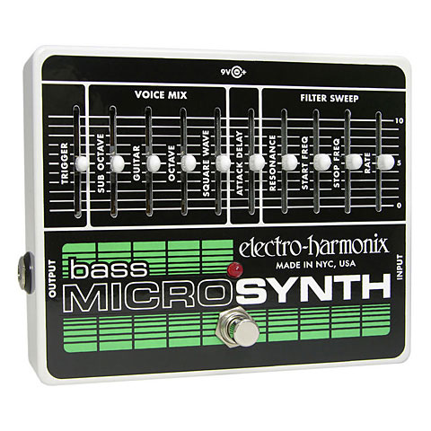 Electro Harmonix XO Bass Micro Synthesizer