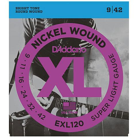 D'Addario EXL120 Nickel Wound .009-042
