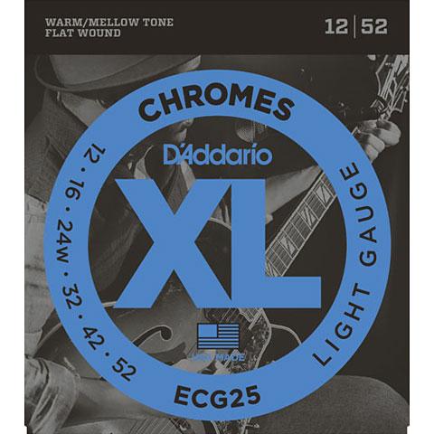 D'Addario ECG25 Chromes .012-052