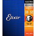 Cuerdas guitarra eléctr. Elixir Nanoweb Light-Heavy .010-052