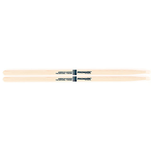 Promark Hickory 5B  The Natural  Nylon Tip