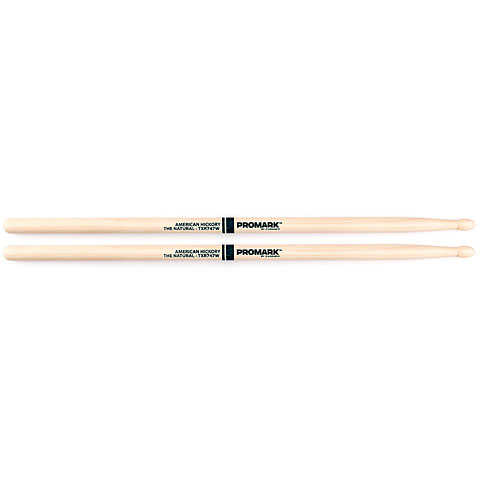 Promark Hickory 747  The Natural  Wood Tip
