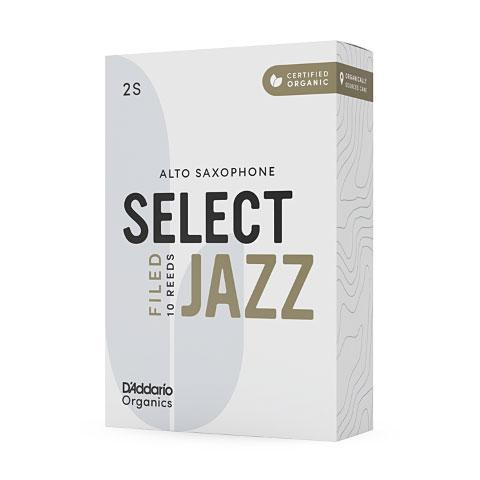 D'Addario Select Jazz Filed Alto Sax 2H