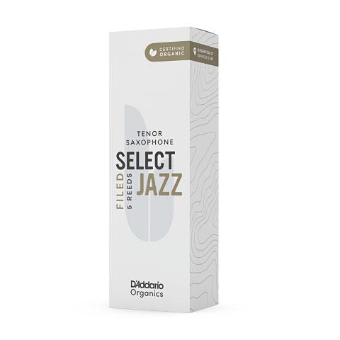 D'Addario Select Jazz Filed Tenor Sax 3S