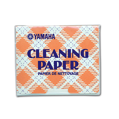 Yamaha Cleaning-Paper
