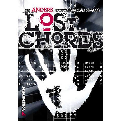 Voggenreiter Lost Chords - Die ANDERE Grifftabelle für Gitarre
