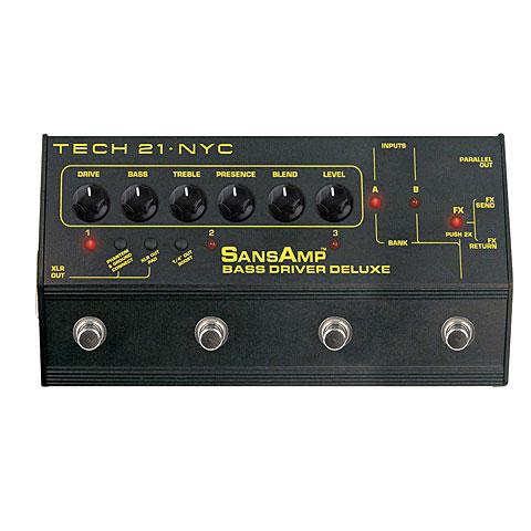 Tech 21 SansAmp BassDriver D.I. Deluxe