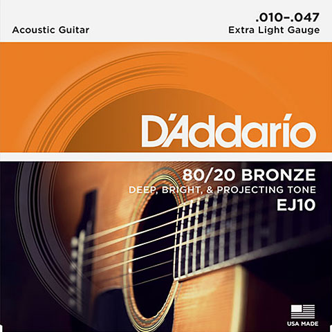 D'Addario EJ10 .010-047