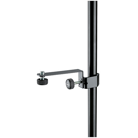 K&M 238 Microphone Clamp 3/8  black