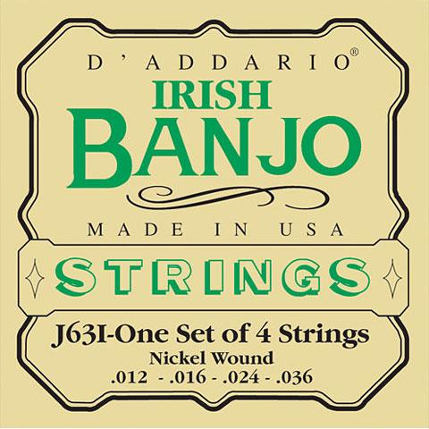 D'Addario J63i Irish Banjo