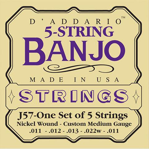D'Addario J57 5-String Banjo