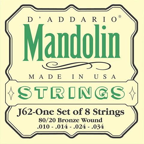 D'Addario J62 Mandolin