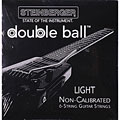 Cuerdas guitarra eléctr. Steinberger Double Ball Light