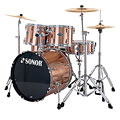 Sonor Smart Force Xtend SFX 11 Stage 2 Brushed Copper « Batería