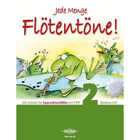 Holzschuh Jede Menge Flötentöne Bd.2