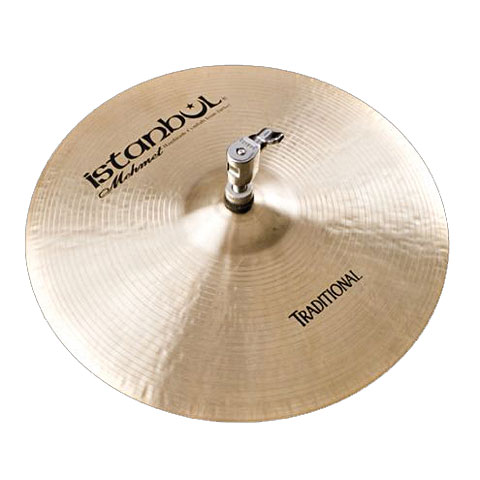 Istanbul Mehmet Traditional 14  Flat Bottom Hole HiHat