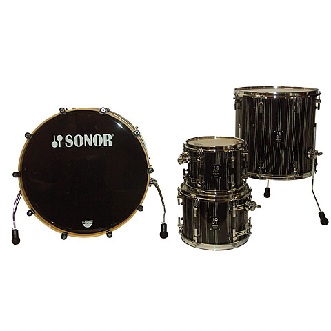 Sonor ProLite PL 12 Stage 3 Ebony White Stripes