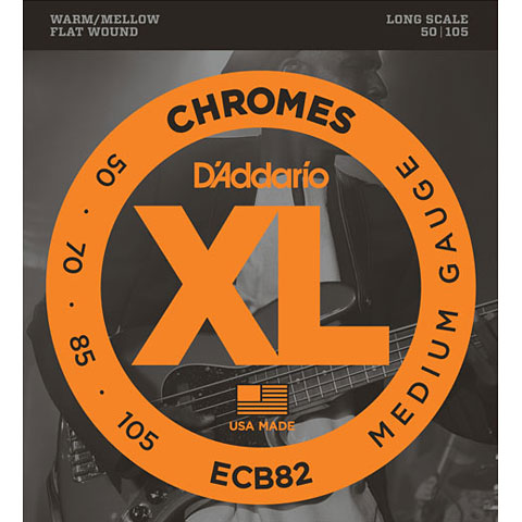 D'Addario ECB82 Chromes .050-105