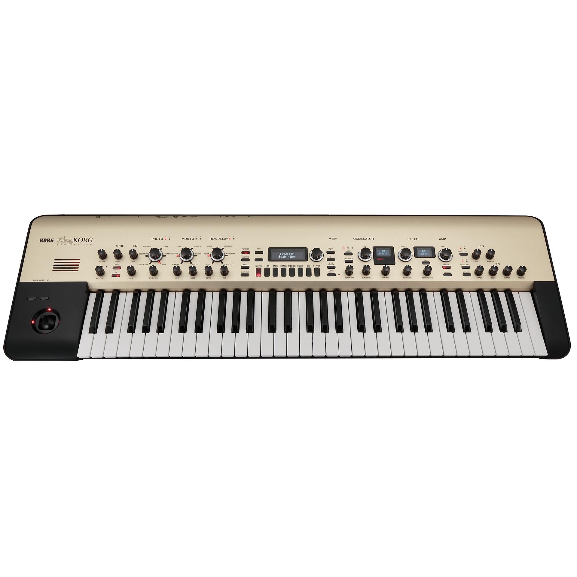 korg king korg  u00ab sintetizador