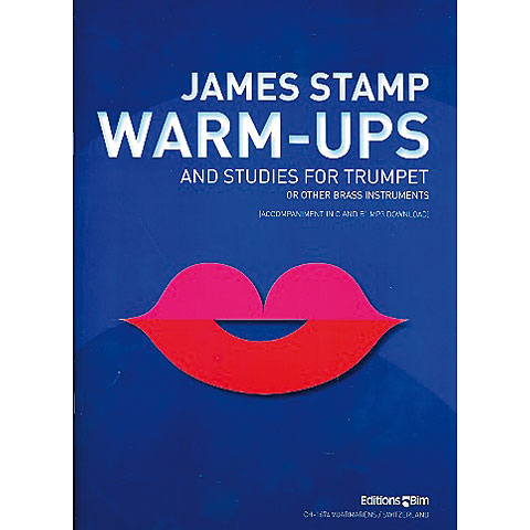 Editions Bim Warm Ups and studies for trumpet