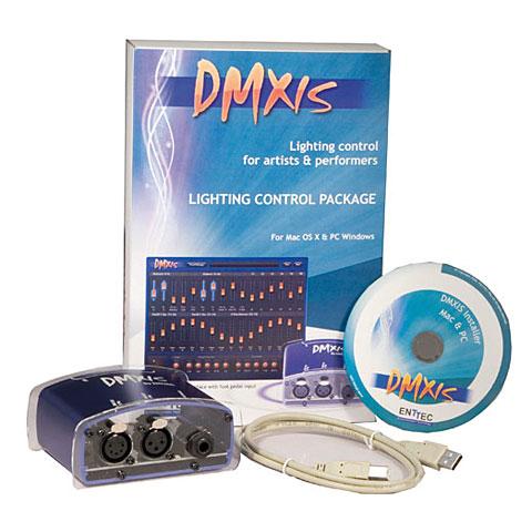 Enttec DMXIS, DMX-Software