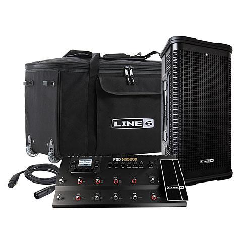 Line 6 FRFR Bundle POD HD500X + StageSource L2m