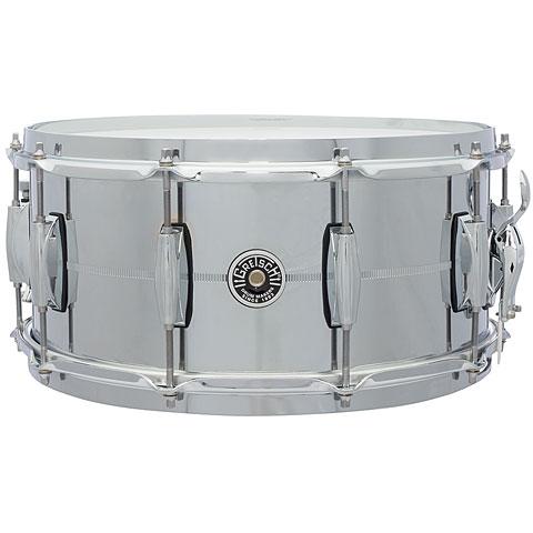 Gretsch USA Brooklyn 14  x 6,5  Chrome over Steel Snare