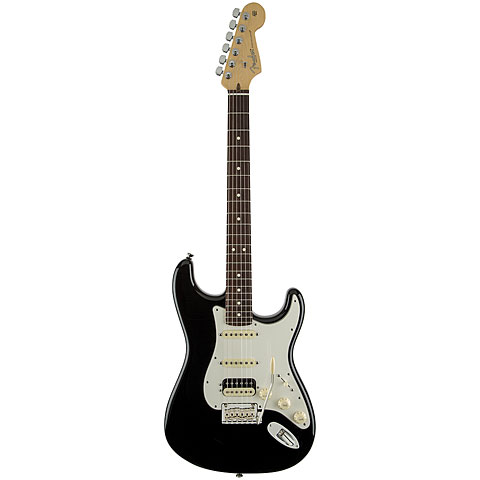 Fender American Standard Strat HSS Shawbucker RW BLK