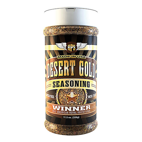 Big Poppa Smokers BPS Desert Gold Seasoning 11.5 oz/326g