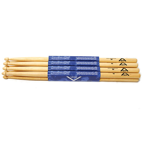 Vater American Hickory 5B (Wood) 4-Pack