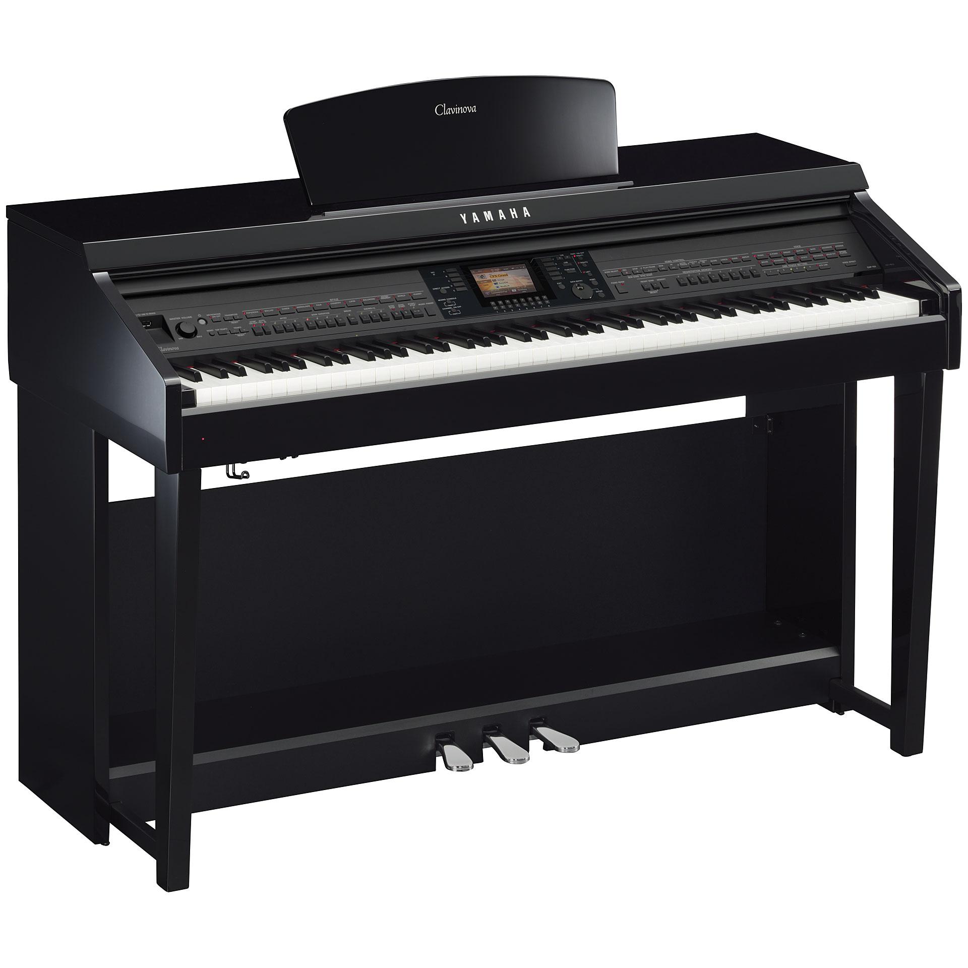Yamaha clavinova cvp 701 pe piano digital for Certified yamaha outboard service near me