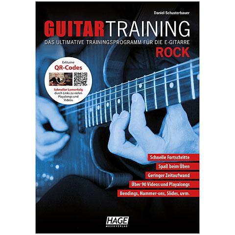 Hage Guitar Training Rock