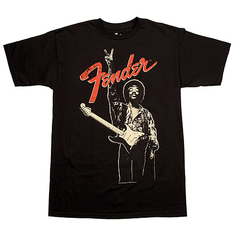 Fender Jimi Hendrix Peace Sign BLK XXL