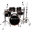 Sakae Pac-D Compact Drumset Solid Black « Batería