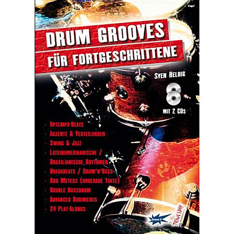 Tunesday Drum Grooves für Fortgeschrittene