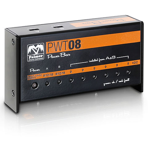 Palmer PWT08 Pedalboard Netzteil