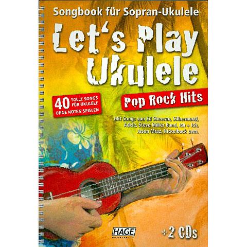 Hage Let's Play Ukulele Pop Rock Hits