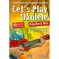 Libro de partituras Hage Let's Play Ukulele Pop Rock Hits