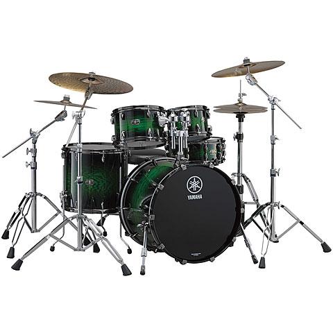Yamaha Live Custom Rock Emerald Shadow Sunburst