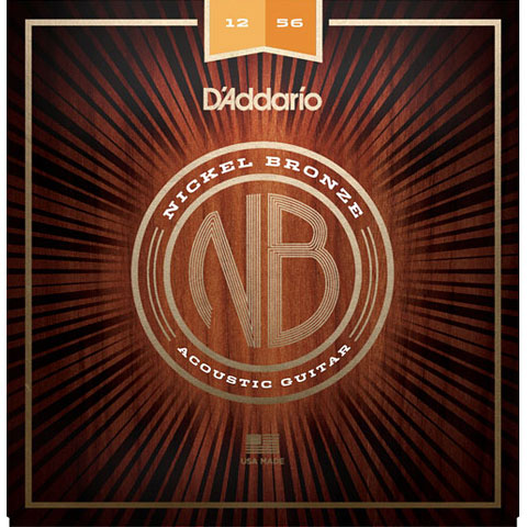 D'Addario NB1256 Nickel Bronze Set