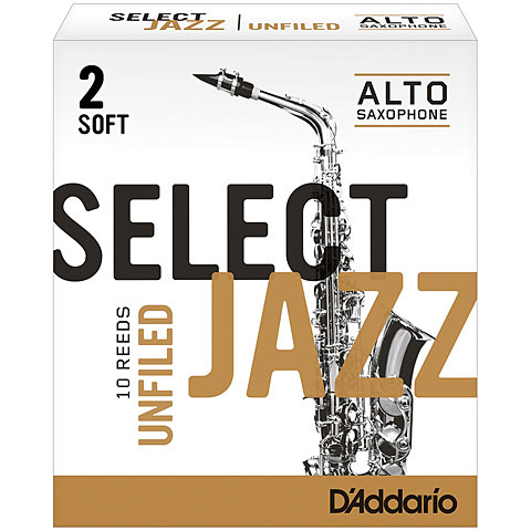 D'Addario Select Jazz Altsax unfiled 2-S