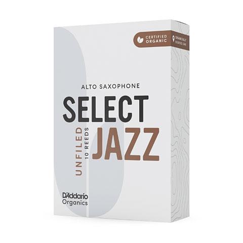 D'Addario Select Jazz Unfiled Alto Sax 4M