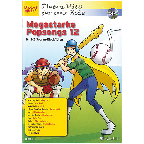 Schott Megastarke Popsongs 12