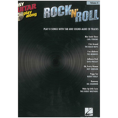 Hal Leonard Easy Guitar play-along: Rock´n´Roll Vol.4