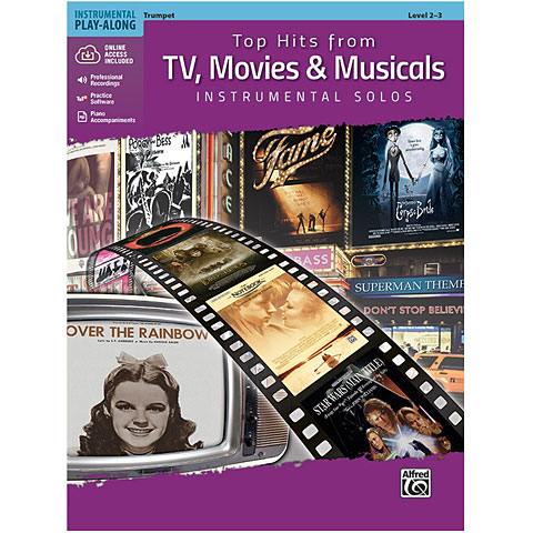Alfred KDM Top hits from TV, Movies and Musicals for trumpet