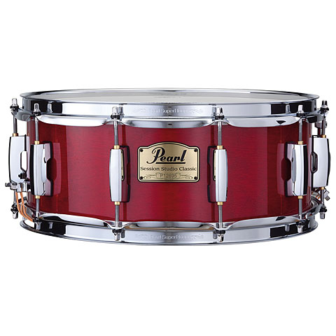 Pearl Session Studio Classic 14 x5,5  Snare Sequoia Red