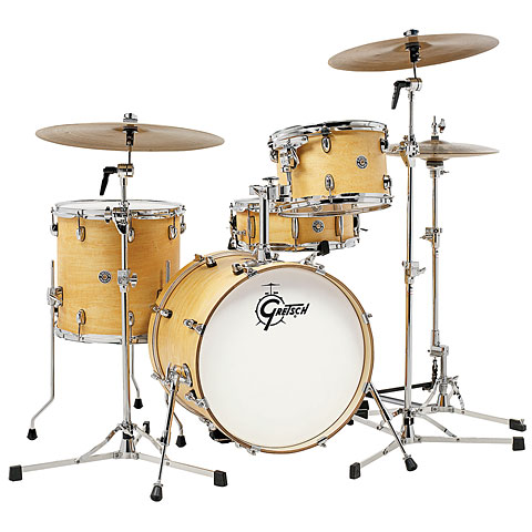 Gretsch 18  Satin Natural Drumset