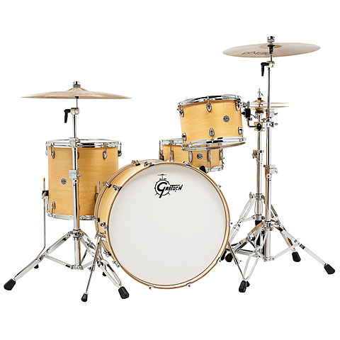 Gretsch 24  Satin Natural Drumset